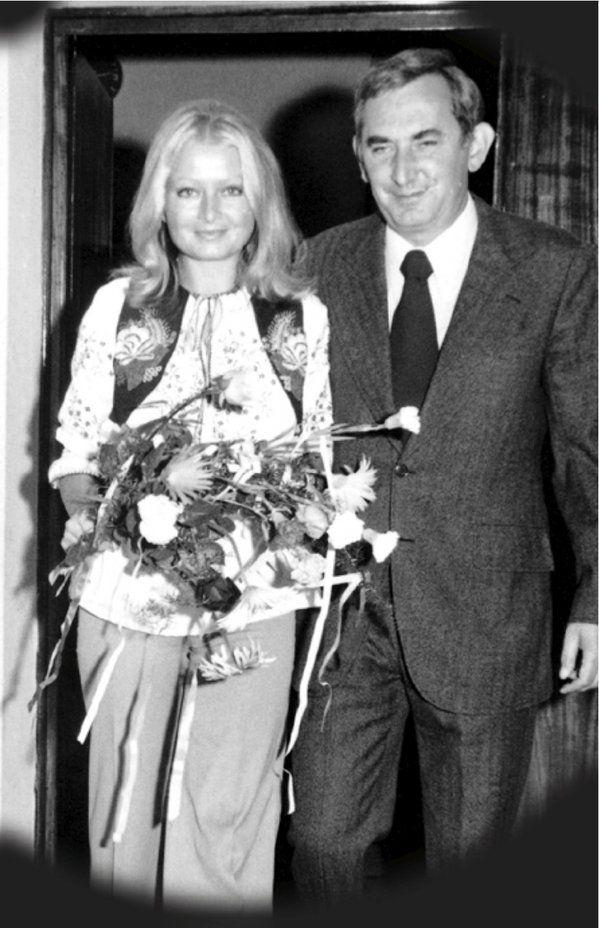 Magdalena Zawadzka I Gustaw Holoubek, ślub (1973)