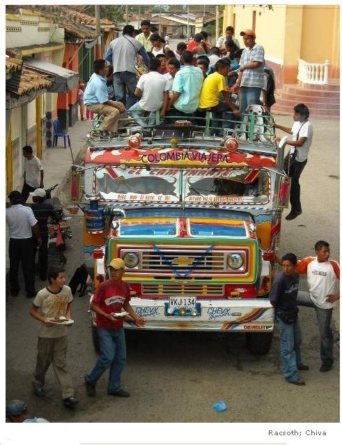 Chiva COLOMBIANA