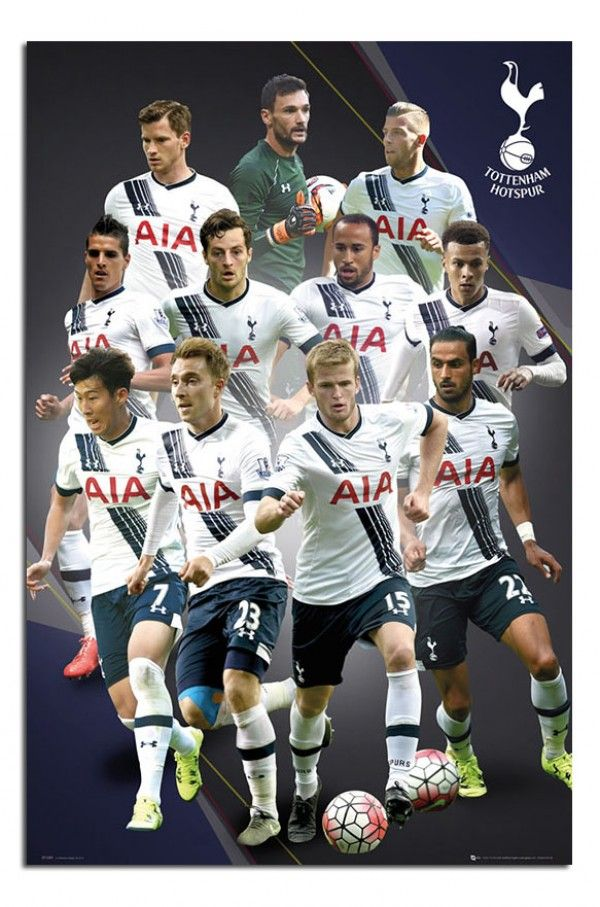 Tottenham Hotspur 2015 / 16 Players Poster | iPosters