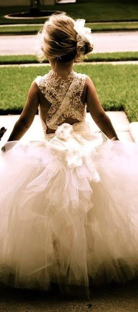 Flower girl dress.. how precious