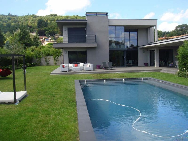 Collonges - Spacieuse maison contemporaine  (2)