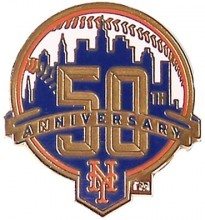 Can you believe the Mets are 50! Woo time flies when you're playing ball!