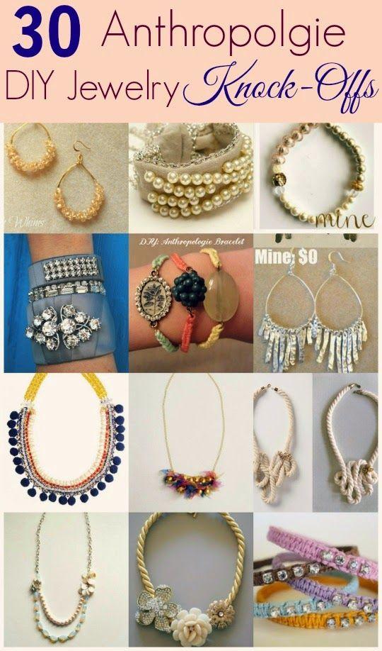 eb50c168b09b1e 30 DIY Anthropologie Jewelry Project Knock-Offs | jewelry | DIY  anthropologie jewelry, DIY Jewelry, Diy jewelry tutorials