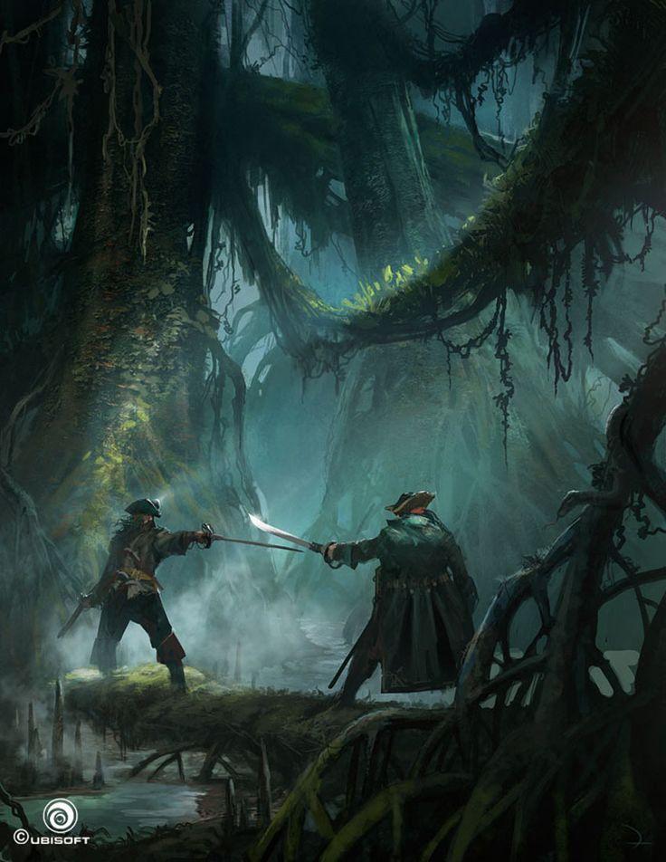 Sword Duel - Characters & Art - Assassin's Creed IV: Black Flag