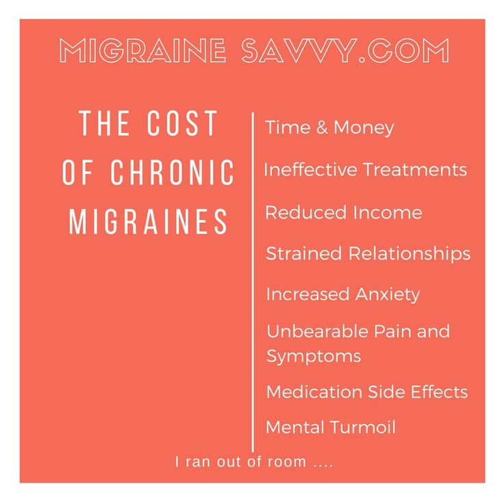 My migraines, at my current estimate, have cost me the price of a house. I think I'd rather have a house. Click here for some ways to be thrifty without sacrificing quality, time and more money!