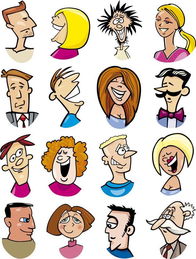 Personajes Y Emociones De Dibujos Animados Vector Premium Premium Vector Freepik Vec Gente De Historieta Ilustraciones De Dibujos Animados Dibujos Animados