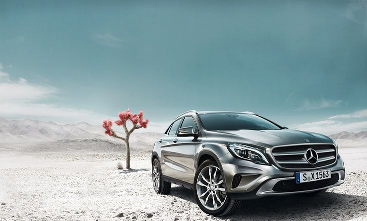 Competent in everyday situations and agile on unpaved roads too: a rambler between automotive worlds, the Mercedes-Benz #GLA convincingly re-interprets the segment for compact SUVs. [Fuel consumption (combined): 6.6-4.3 l/100 km;  CO2 emissions (combined): 154-114 g/km]