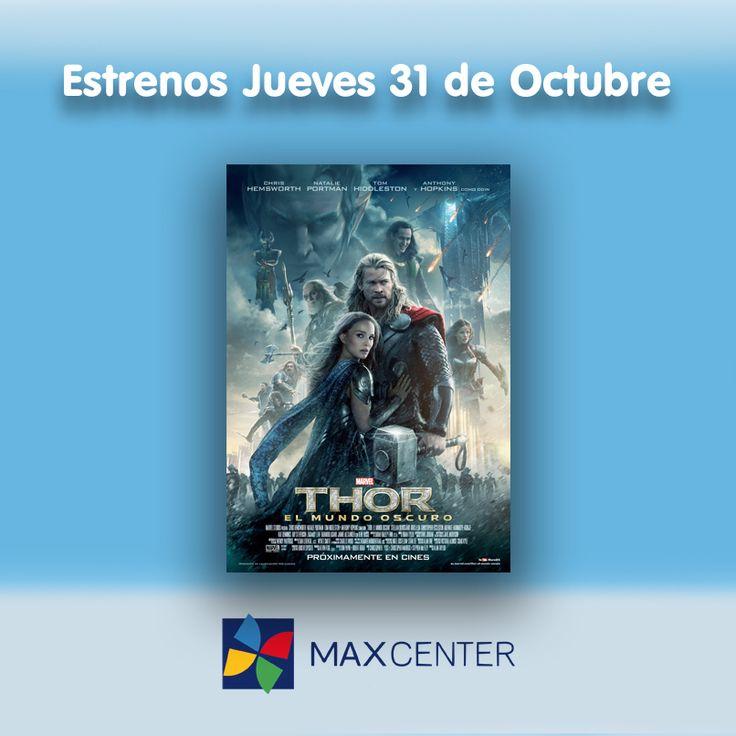 """Esta semana los #estrenos se adelantan. Entre ellos destaca la segunda parte de """"THOR"""", en la que el superhéroe del martillo volverá a luchar para salvar la tierra."""