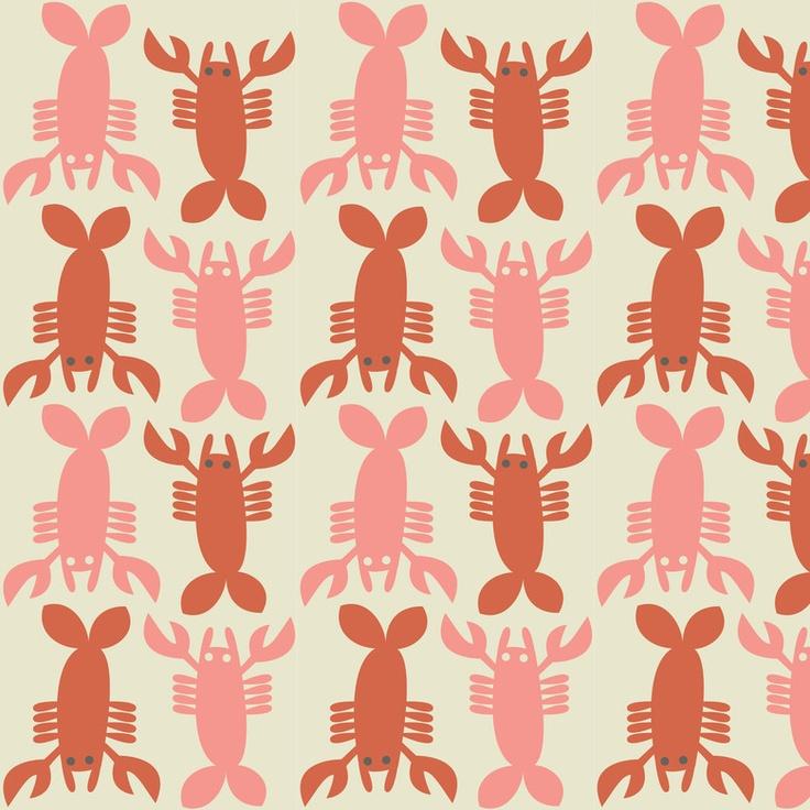 Retro Lobster