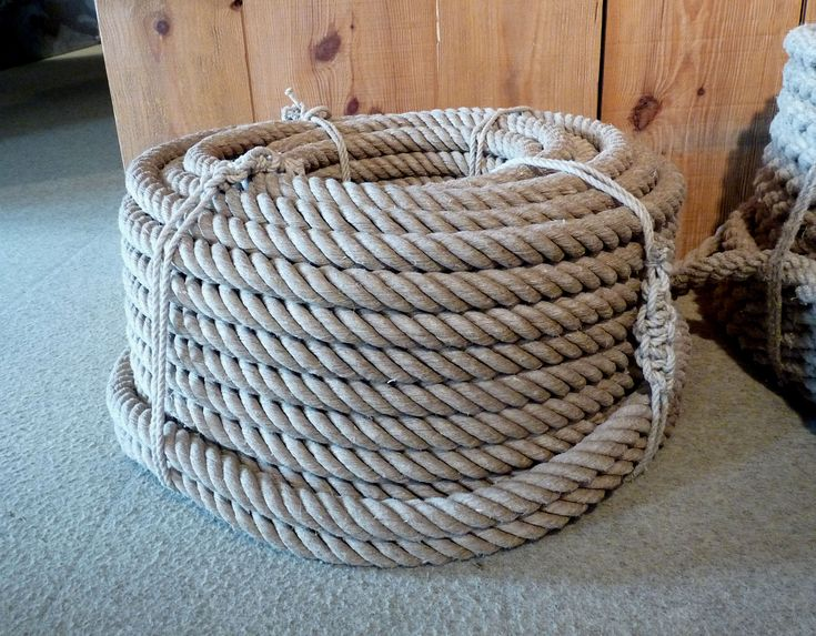 Hemp rope was phased out when Manila, which does not require tarring, became widely available. Description from pinterest.com. I searched for this on bing.com/images