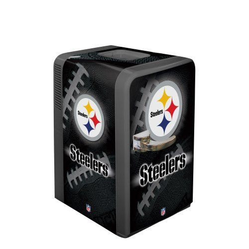 NFL Pittsburgh Steelers Portable Party Refrigerator « Blast Gifts