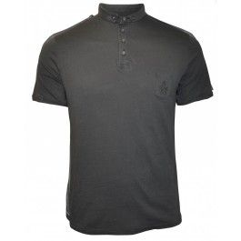BASE POLO (WASHED BLACK)