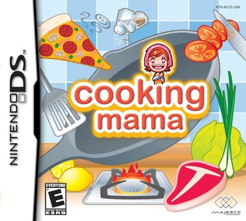 Let's get cookin', Mama! Now you can learn how to cook on your Nintendo DS! Prepare foods, combine raw ingredients, cook the meal and present your culinary masterpiece to Mama for your final score.