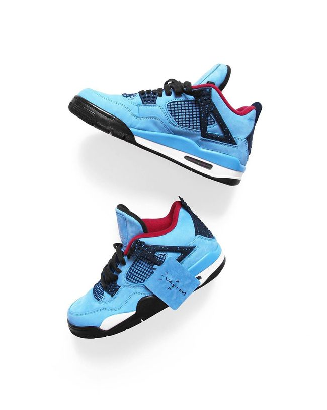 Air Jordan 4 Retro Travis Scott Cactus Jack En 2020 Chaussures