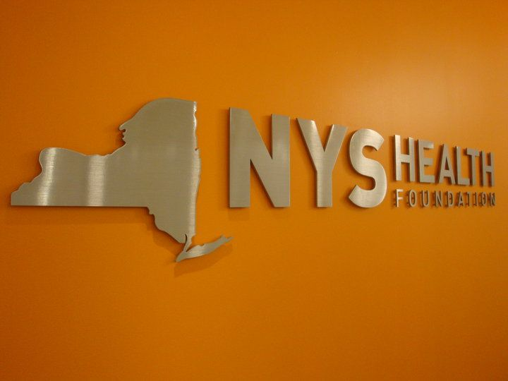 Dimensional Reception Area Office Sign NYC