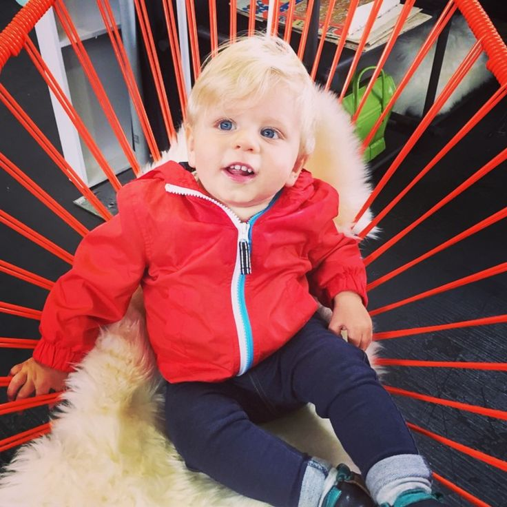 When your outfit matches your favourite chair! Find your kids favourite colour Acapulco Chair on our website.