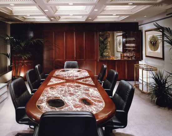 luxury office conference room