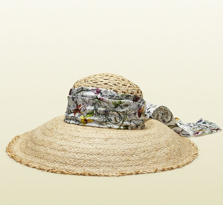 4add49428772b ... Gucci Straw Hat  241 Best STRAW HATS Images On Pinterest