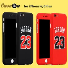 Für iPhone 6 s Basketball Spieler Harter Telefon Fall Jordan Bryant Curry 360 grad Full Body Fall-abdeckung für iPhone 7 7 plus 6 6 s plus(China (Mainland))