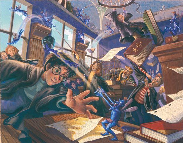 16 Capas originais não utilizadas nos livros do Harry Potter.