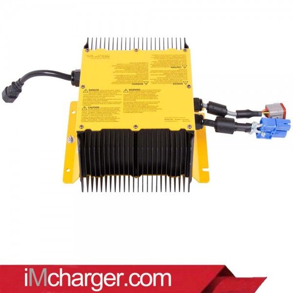 36 Volt, 21 Amp on-board HF battery charger for Hyster Electric Lift Truck