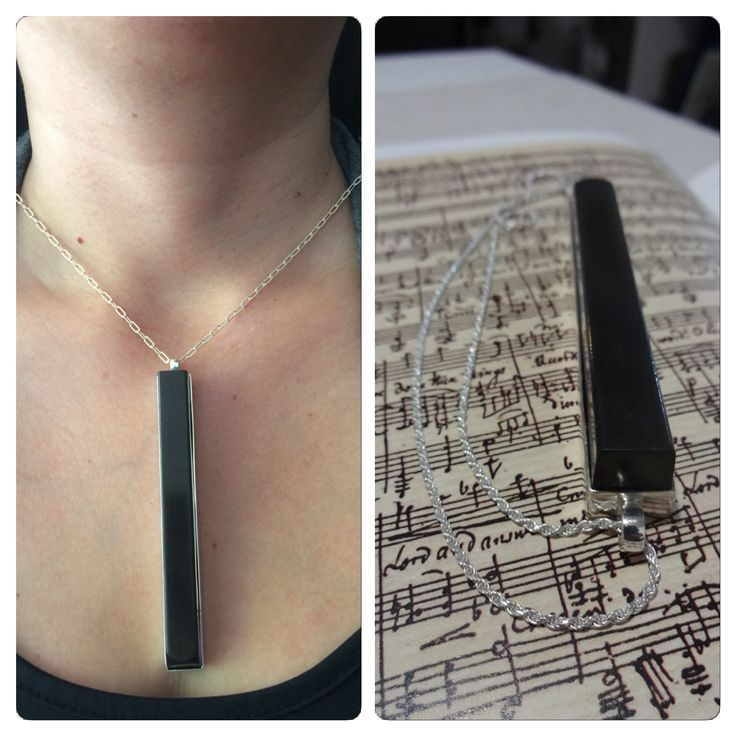 Colgante de Ébano y Plata, diseño con #Tecla de #Piano de #ebano , #hechura #hechoamano #joyeria #musica #arte #chilepianos / Ebony and Silver Necklace, #Ebony #piano key design, #hechura #handmade #jewelry #music #art #piano