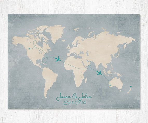 13 best custom maps images on pinterest custom map destinations custom world map custom map gift personalized map wedding guest book alternative map sizes up to x gumiabroncs Gallery