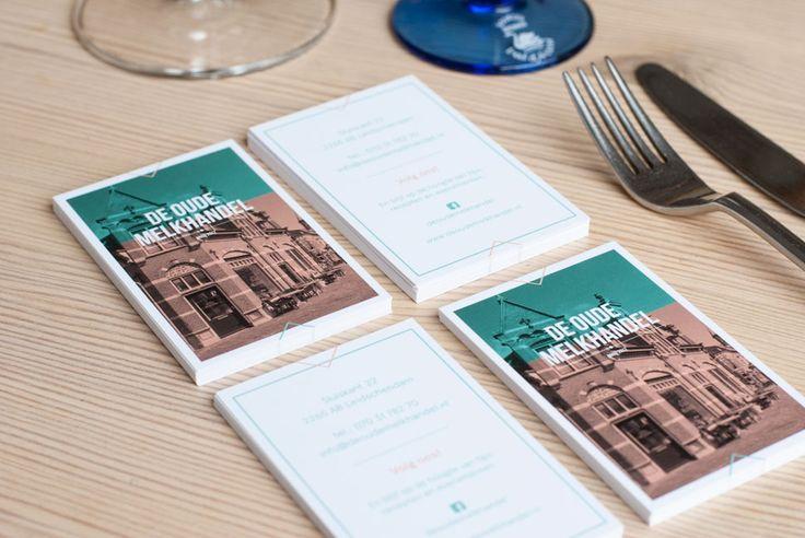 Visitekaartjes Restaurant de Oude Melkhandel in Leidschendam.