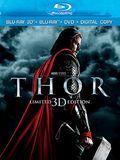 Thor [3 Discs] [Includes Digital Copy] [3D] [Blu-ray/DVD] [Blu-ray/Blu-ray 3D/DVD] [Eng/Fre/Spa] [2011]