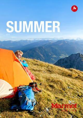 Marmot Spring/Summer 2014 EN  Marmot Catalog – Spring/Summer 2014 (English)