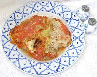 W Mojej Kuchni Lubię.. : z przyprawą do makaronu gołąbki z włoskiej kapusty...