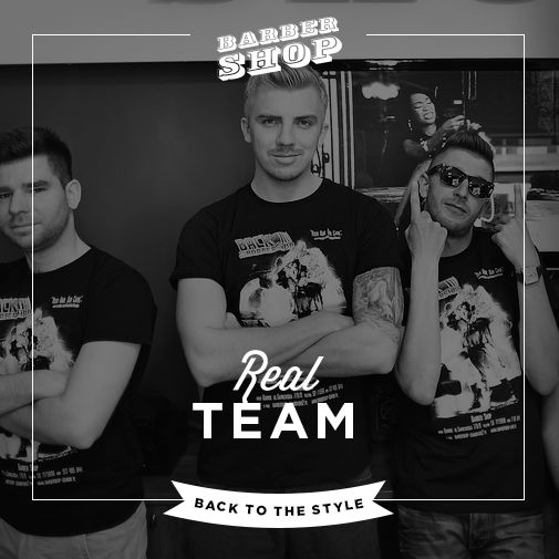 Team. BarberShop. Gdańsk 2014