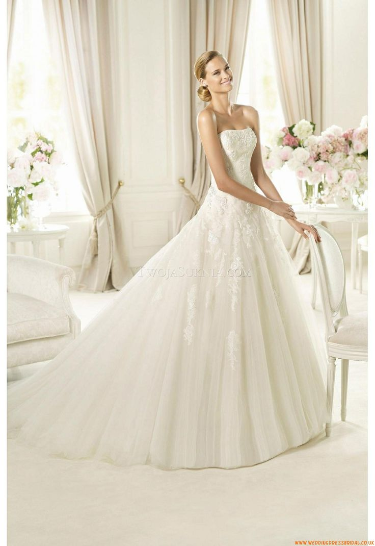 20 besten Wedding Dresses Pronovias Bilder auf Pinterest | Pronovias ...