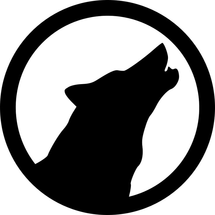 Clipart - Wolf Emblem