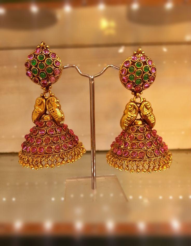 traditional kerala jewellery earrings - Google Search