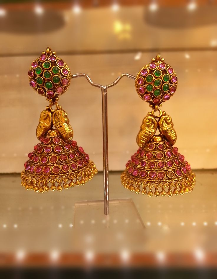 traditional kerala jewellery earrings - Google Search