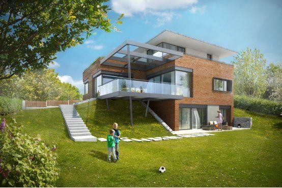 PS Architekti vila Cernosice