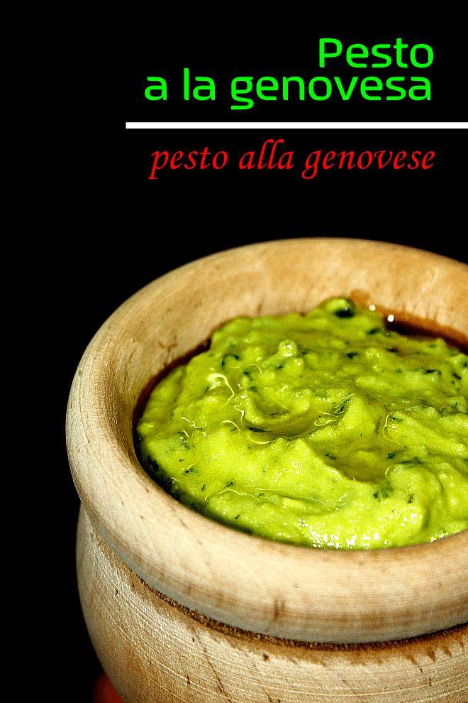 LAS SALSAS DE LA VIDA: Pesto a la genovesa
