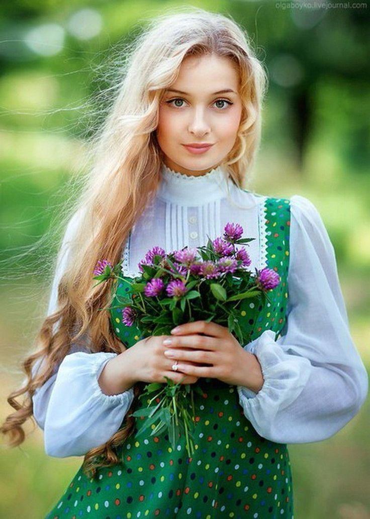 Девушки картинки русский