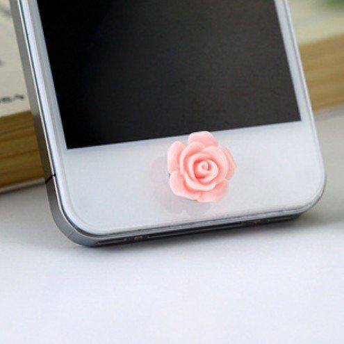 Cute Pink Rose Flower Phone Home Return Keys Buttons Sticker for Iphone 4s Iphone 5 Ipod Touch iPad iphone 5c 5s, http://www.amazon.com/dp/B00IGB430I/ref=cm_sw_r_pi_awdm_Hj2iub1MSB5YN