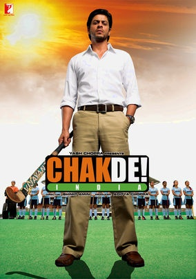 Chak De! India (2007) SRK turns a ragtag girls field hockey team into world champs.  As he would. Chak de!