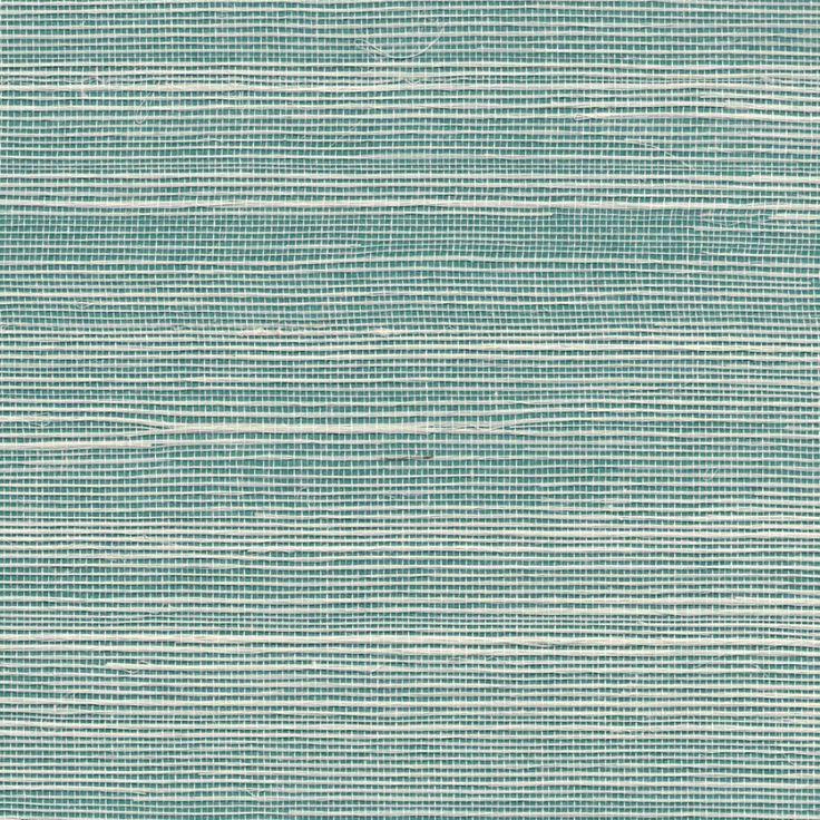 Fab Blue Grasscloth Turquoise Bermuda Hemp A Grasscloth