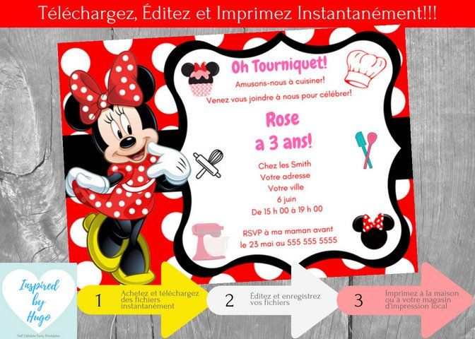 mickey minnie mouse invitations