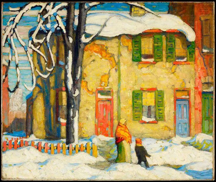 Lawren Harris 1919 Eski Ev