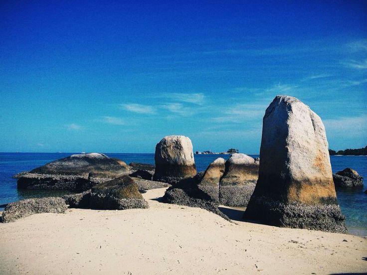 Pulau Batu Belayar. Bangka-Belitung. Indonesia