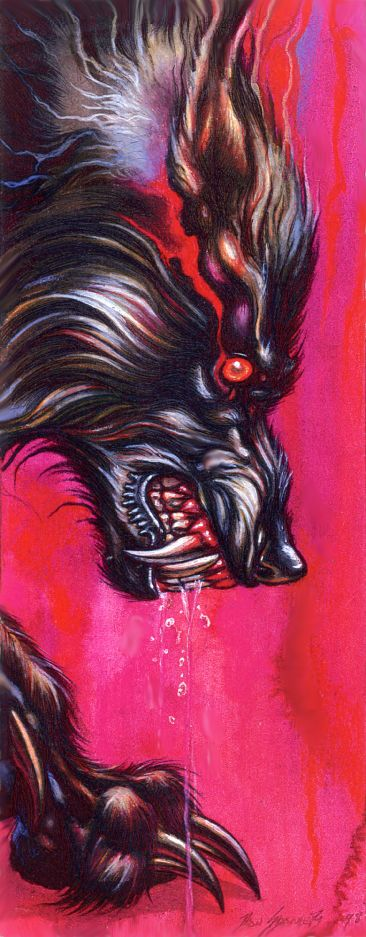 by - Ron Spencer. Seriously the best werewolf artist -ever- IMHO <3