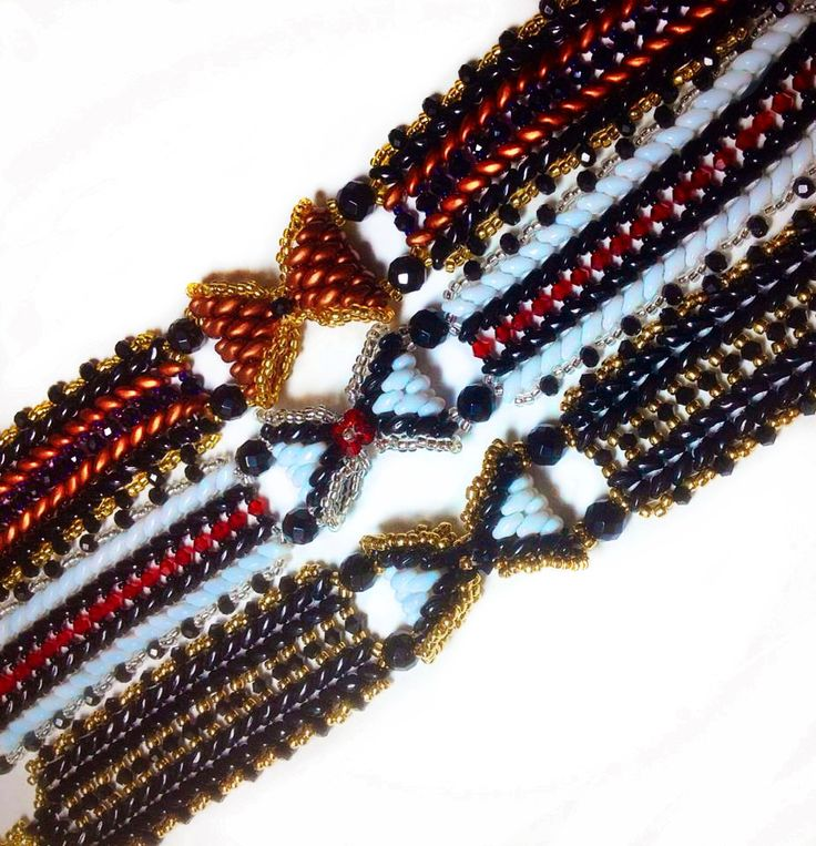 108 best Free Bracelet Patterns - Weaved Beads images on Pinterest - free p&l template