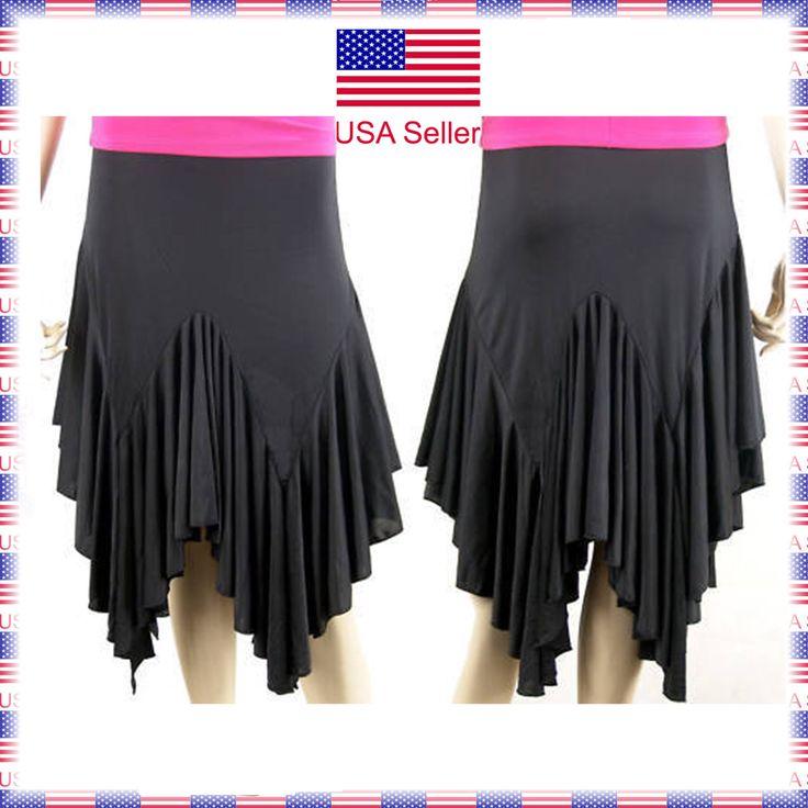 Nice Awesome 3753bk (Extra Small) New Women Ballroom Latin Rhythm Salsa Social Dance Skirt  2017/2018 Check more at http://mydresses.ml/fashion/awesome-3753bk-extra-small-new-women-ballroom-latin-rhythm-salsa-social-dance-skirt-20172018/