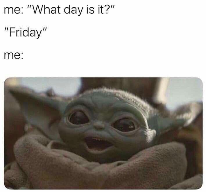 Pin By Gynaeya Bertholf Cooper On Baby Yoda Yoda Meme Yoda Funny Really Funny Memes