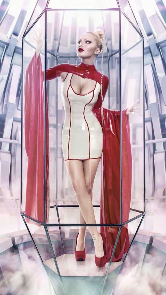 Photographer Mpm7 Designer Dead Lotus Couture Latex -6625